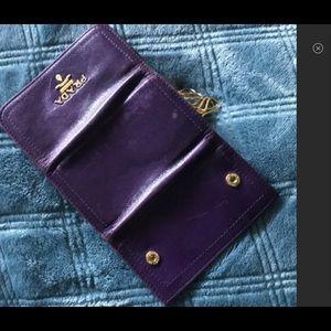 PRADA Purple Key Holder GUC RARE COLOR